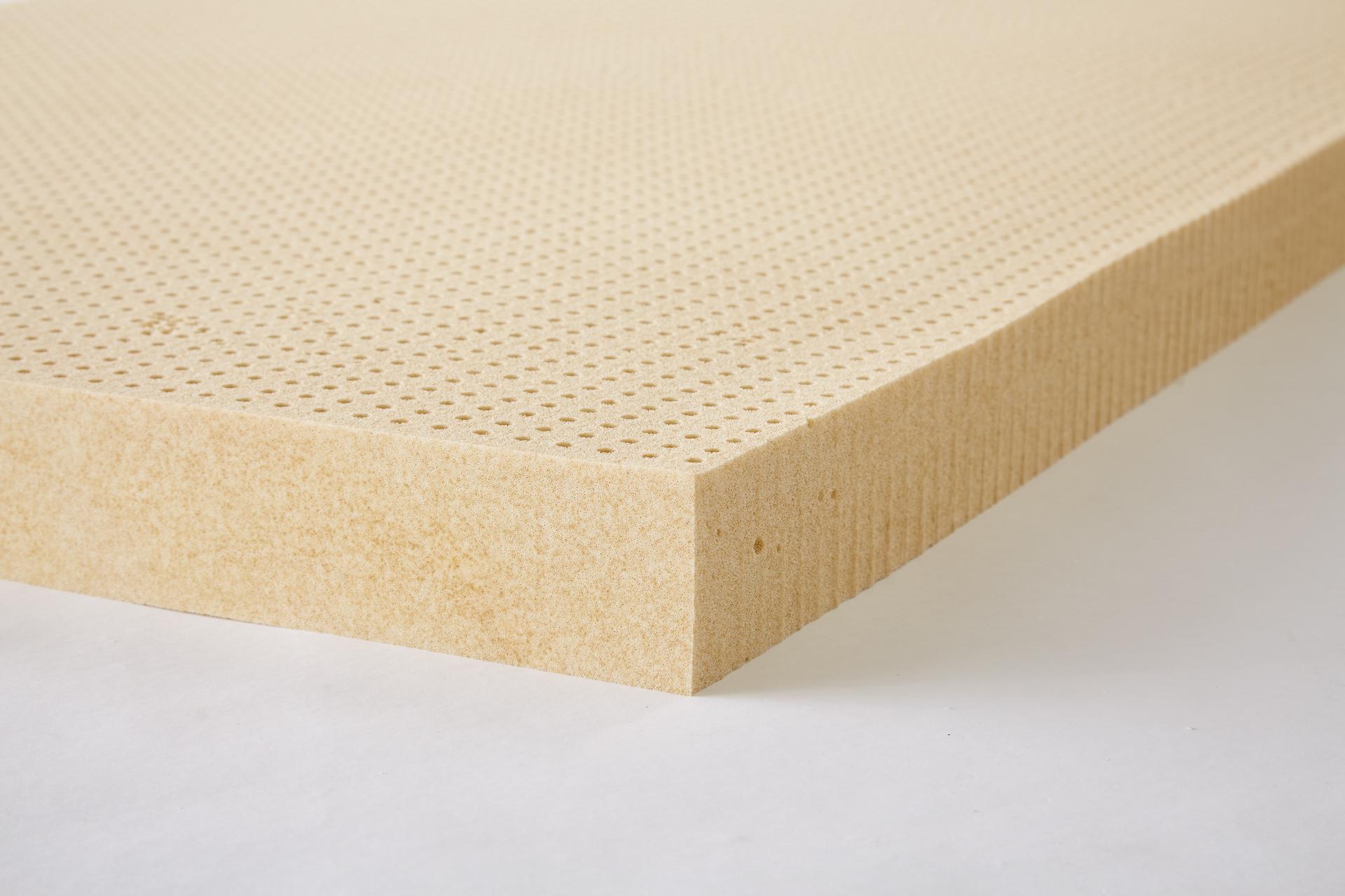 Talalay Latex Topper.Custom 3 Inch Latex Foam Mattress Topper