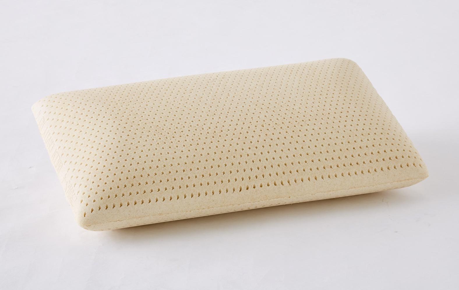 Talalay latex foam pillow - soft, medium, firm dentisy latex fom pillow